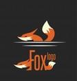 fox logo 7 vector image