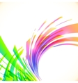 Rainbow colors abstract shining background vector image vector image