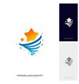 stars twist logo design concept storm stars logo vector image vector image