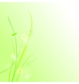 The abstract grass vector image