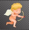 angel cherub baboy child cartoon character vector image vector image