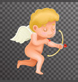angel cherub baby boy child cartoon character vector image vector image