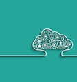 cloud Apps concept vector image