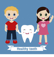 Dental care design vector image