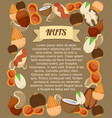 natural food poster vector image vector image