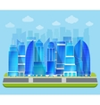 Office industrial cityscape vector image vector image