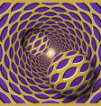 optical two balls with a pointed vector image vector image