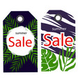 price tag summer sale image vector image vector image