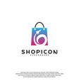 travel shop logo template design vector image vector image