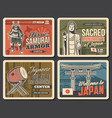 welcome to japan japanese culture and traditions vector image vector image