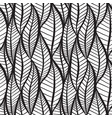 seamless black and white texture with stylized vector image