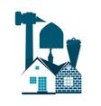 construction industry symbol vector image vector image