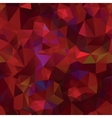Crystals hot fire background Design template vector image vector image