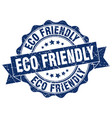 eco friendly stamp sign seal vector image vector image