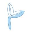 ecology plant natural environmental symbol vector image vector image