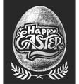 Happy Easter Chalk Lettering vector image vector image