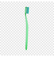 hygiene toothbrush icon realistic style vector image vector image
