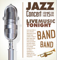 jazz festival banner vector image vector image