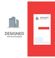 skyscraper architecture buildings business office vector image