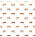table pattern seamless vector image vector image