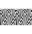 vertical lines with distortions vector image vector image