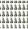 plants decoration design background vector image