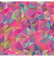 Abstract colorful geometric triangle background vector image vector image