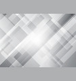 abstract white and gray squares shape geometric vector image vector image
