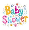 Baby Shower 2 vector image vector image