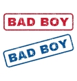 Bad Boy Rubber Stamps vector image vector image