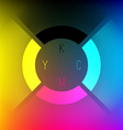 CMYK Color Wheel vector image