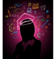 Education brainstorm concept vector image