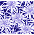floral summer seamless background flowers vector image vector image
