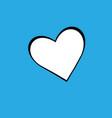 heart bakcground valentines day vector image vector image