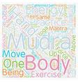 Mudras Hand Symbolism Mudra Power Part 2 text vector image vector image
