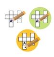 Symmetrical Sudoku icon vector image