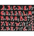 Alphabet Font - vector image vector image