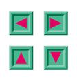 Block Arrow vector image vector image