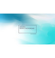 blurred abstract blue backgrounds design color vector image