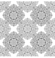 entangle mandala seamless pattern in doodle style vector image vector image