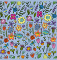 floral seamless pattern for your design vector image vector image