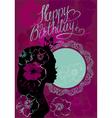 princess birthday 380 vector image vector image