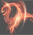 red abstract background with blurred magic neon vector image vector image