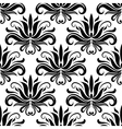 Seamless damask pattern with stylized yucca vector image vector image