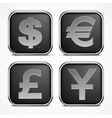 Set of square icons vector image