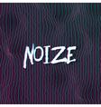 Sound Noize Waves Digital Wave Graph vector image vector image