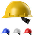 safety helmet vector image