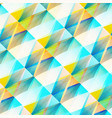 abstract mosaic light background vector image vector image