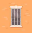 apartment window vector image