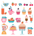 Berry sweets vector image vector image